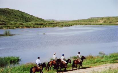 乗馬ツアー, モンゴル, 旅行, 乗馬, 中国, 外乗